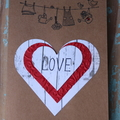 Love Card Heart Card Wedding Card Anniversary Card Just Because Card