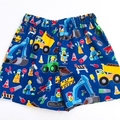 "Sizes 1 , 2  and 3 ""Construction Work"" Shorts"