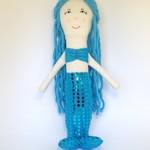 Mermaid Rag Doll - Turquoise