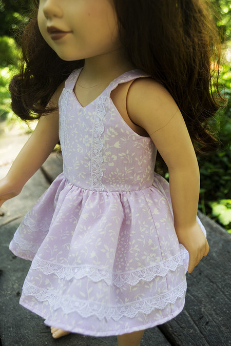 Pink Dress for 46cm Doll