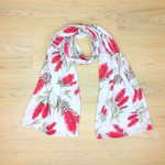 Scarf Australian Native flower, Australiana, bottlebrush scarf