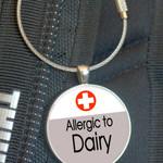School Bag Tags, Medic Alert - Dairy Allergy