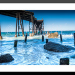 Historic Catherine Hill Bay Beach Fine Art Photographic Print