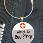 School Bag Tags, Medic Alert - Bee Sting Allergy