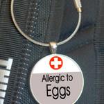 School Bag Tags, Medic Alert - Egg Allergy