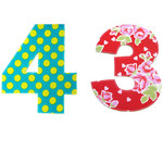 Birthday or Anniversary Garland, Choose Your Age or Numbers