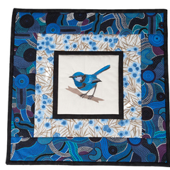 Australiana table centre - Blue Wren