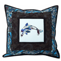 Australiana cushion cover - Dolphin