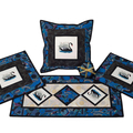 Australiana cushion cover - BLACK SWAN