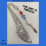 OUR LOVE IS TIMELESS - bookmark