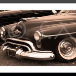 1950s Oldsmobile Futuramic Vintage Classic Car Fine Art Photographic Print