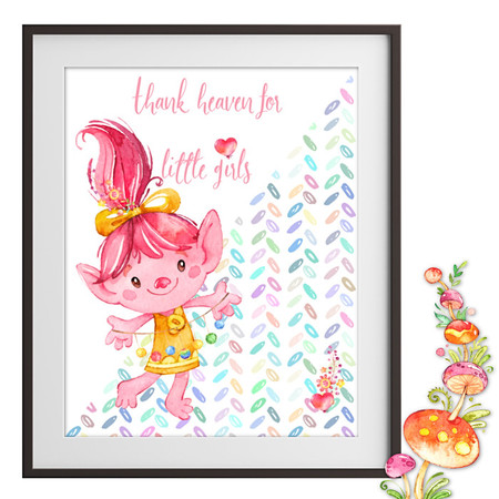 Thank Heaven for Little Girls Printable
