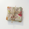 Fabric Coasters - Field of Flowers - Set of 8
