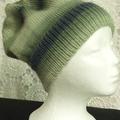 Unisex adult hand knit slouchy-beanie Murano 1