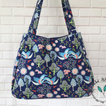 Manderley Tote Bag, Fabric Bag, Fabric Shopping Bag, Large Tote Bag