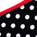 Small Coin Purse in Polka Dot Fabric