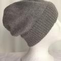Unisex adult hand knit Slouchy/beanie  Alpaca Rich 2