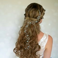 Hair vine, wedding hairpiece, flower crown, wedding hair accessory