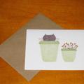 Flowerpot Cat