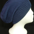 Unisex adult hand knit slouchy/beanie100% Cotton 1c