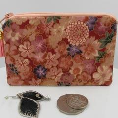 Coin Purse - Blossom Print