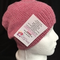 Unisex childs hand knit slouchy-beanie Bamboo-Wool Stellar 2/2