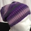 Unisex childs hand knit slouchy-beanieMurano 2
