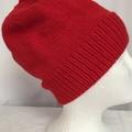 Unisex childs hand knit slouchy-beanie acrylic 1