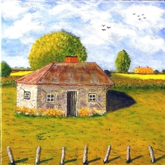 """"""" Old Stone Cottage """""""