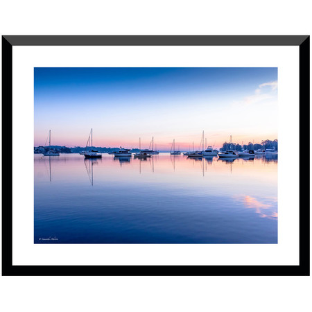 Sunrise over Wangi, Lake Macquarie Fine Art Photographic Print