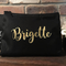 Personalised Name Zipper Pouch,  Makeup Bag Large, Personalised Cosmetic Case, C
