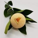 Carnelian and Orange Crystal Infused Bath Bomb
