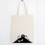 Personalised Bag - Cranky Monster Tote Bag - Halloween Bag - Cranky Person