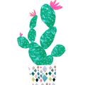 Abstract Art Print Wall Art Contemporary Decor Cactus