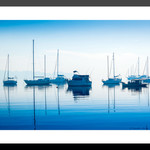 Deep blue Lake Macquarie Fine Art Photographic Print