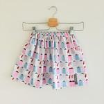 Size 4 - Twig Pocket Skirt - Teapots