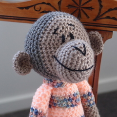Melinda - Hand crocheted Monkey by CuddleCorner