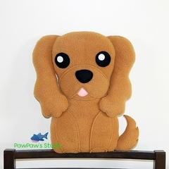 Cavalier King Charles Spaniel Pillow Plush / Dog Toy / Dog Plush