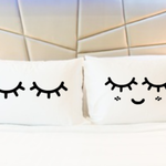 Personalised novelty pillow cases. Wedding, anniversary, engagement