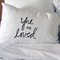 You are Loved pillow cases. Wedding, anniversary Gift engagement