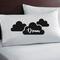 Dream pillow cases. Wedding, anniversary Gift engagement