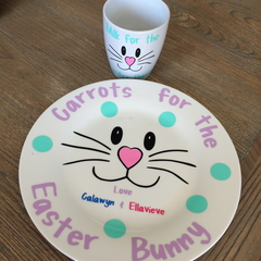 Easter Plate & Cup Set