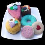 FELT FOOD CAKE SET