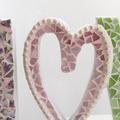 Mosaic LOVE sign