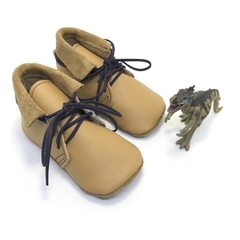 Leather baby boy boots. Size 5  (13.7cm) 18-24 months. One only FREE SHIPPING