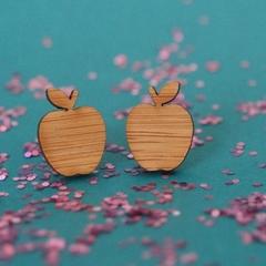 Apple A Day Earrings Studs