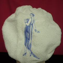 Ladies After Shower Towel Cap---