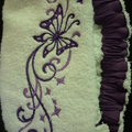 Ladies After Shower Towel Cap-Filigree