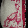 Ladies After Shower Towel Cap-Victorian Ladies 2