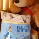 """Peter Rabbit"" Reading Cushion (cover only)"
